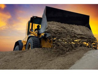 Песок, щебень, керамзит